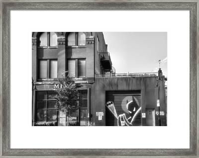 Main Street Denizen Framed Print