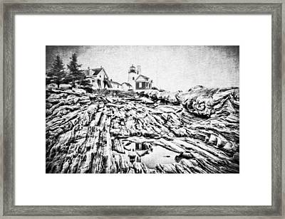 Maine Framed Print by Darren Fisher