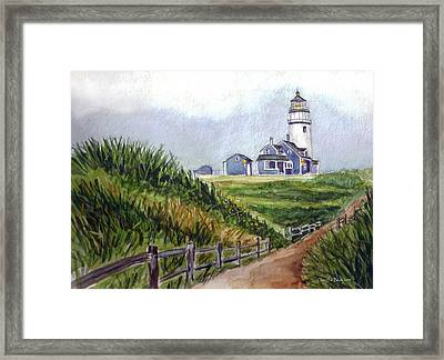 Maine Light Framed Print