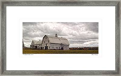 Maine Vacancy Framed Print by Richard Bean