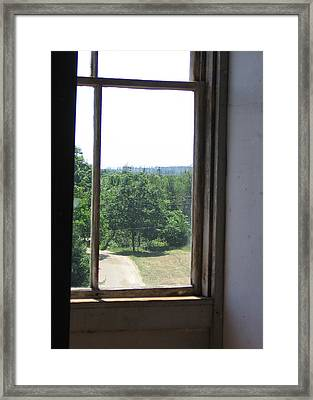 Maine Window II Framed Print by J R Baldini M Photog Cr