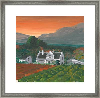 Mainhouse Petite Framed Print by DC Decker