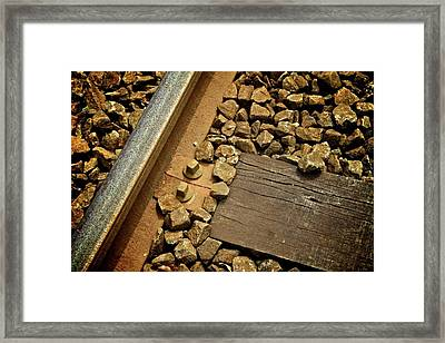 Mainline Framed Print by Odd Jeppesen