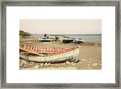 Maio Fisherman Framed Print by Julia Raddatz