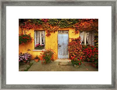 Maison Blanc Framed Print
