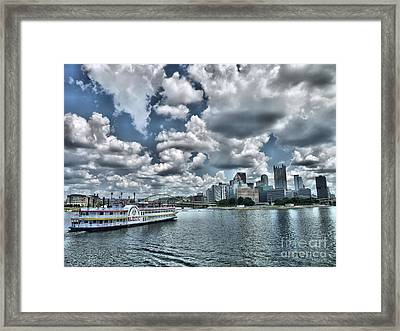 Majestic Framed Print by Arthur Herold Jr