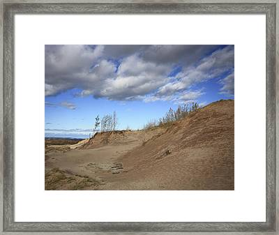 Framed Print featuring the photograph Majestic Dunes by Patrice Zinck