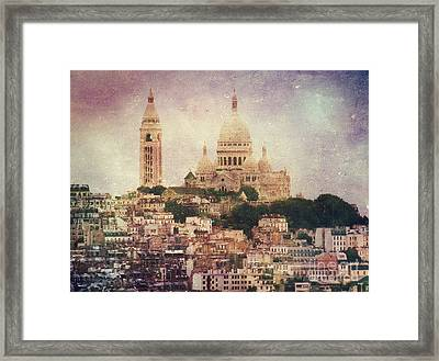 Majestic Haze Framed Print