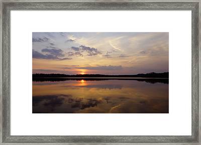 Majestic  Heavens  Framed Print by John Ungureanu
