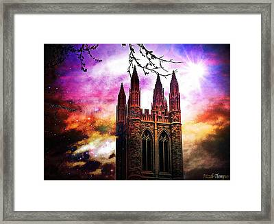 Majestic Framed Print by Michelle Frizzell-Thompson