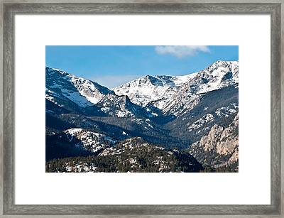 Majestic Rockies Framed Print by Colleen Coccia