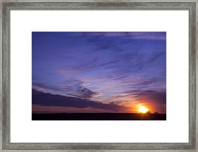 Majestic View Framed Print