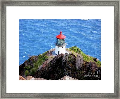 Makapupu Lighthouse Framed Print