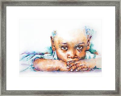 Make A Wish Framed Print by Stephie Butler