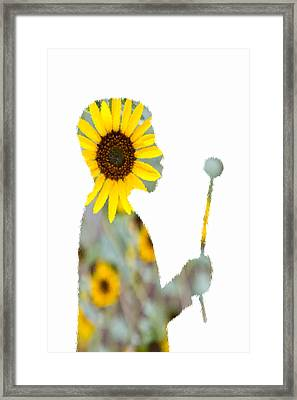 Make A Wish Sunlover Framed Print by Angelina Vick