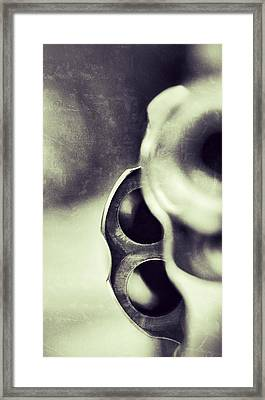 Make My Day Framed Print by Pair of Spades