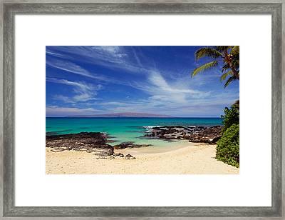 Makena Cove Maui Framed Print