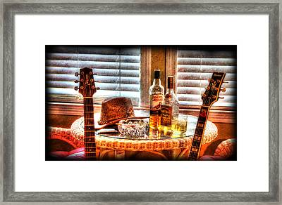 Making Music 001 Framed Print by Barry Jones
