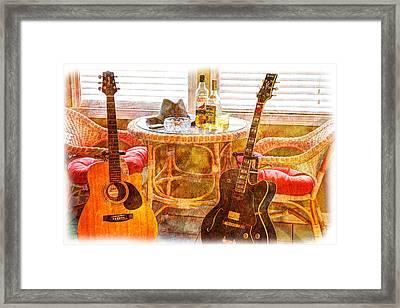 Making Music 003 Framed Print by Barry Jones