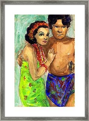 Mala And Mamo Framed Print by Mel Thompson