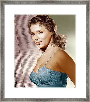 Malaga, Dorothy Dandridge, 1954 Framed Print by Everett