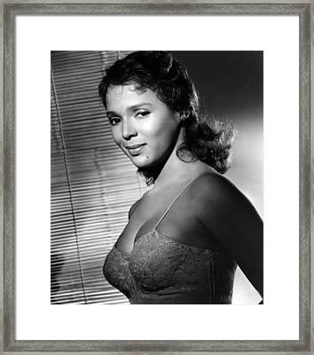 Malaga, Dorothy Dandridge, 1960 Framed Print by Everett