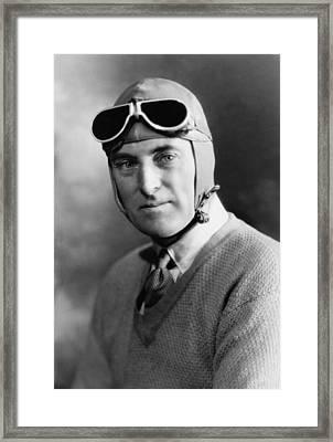 Malcolm Campbell 1885-1948 Set Framed Print