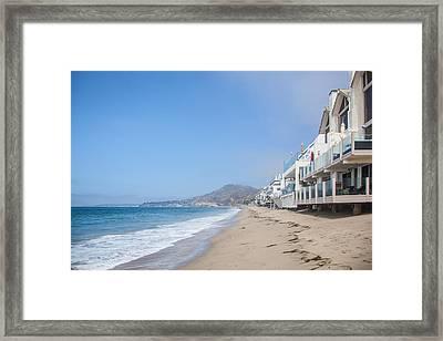 Malibu Beach Framed Print by Ralf Kaiser