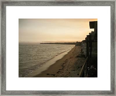 Malibu Framed Print by Kim Aberle
