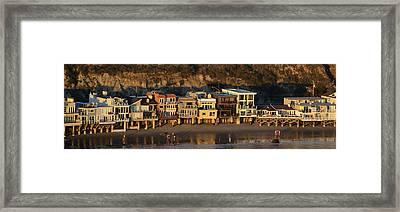 Malibu Lifestyle Framed Print by Fraida Gutovich