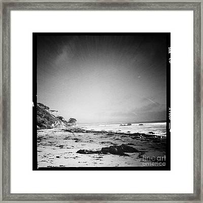 Framed Print featuring the photograph Malibu Peace And Tranquility by Nina Prommer