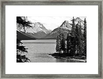 Maligne Lake Framed Print by RicardMN Photography