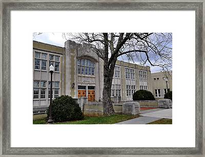 Mallory Hall Framed Print by Todd Hostetter