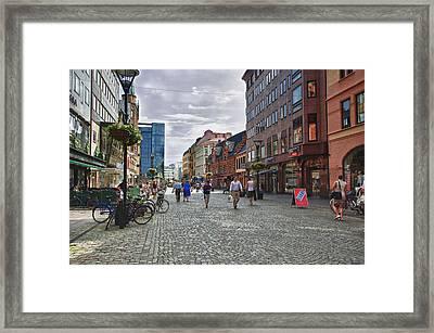 Malmo Framed Print by Wade Aiken