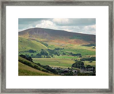 Mam Tor - Derbyshire Framed Print by Graham Taylor