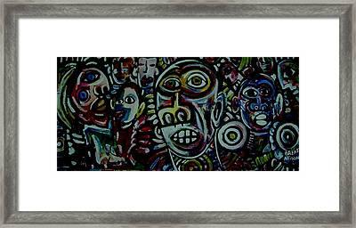 Mambojumbo Framed Print by Brent Eric Allison