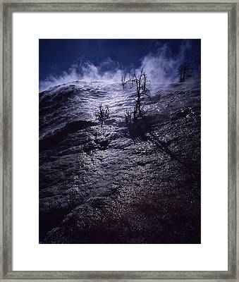 Framed Print featuring the photograph Mammoth Steam by J L Woody Wooden