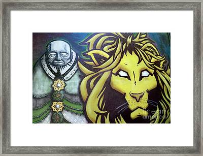 Man And Beast Framed Print by Bob Christopher