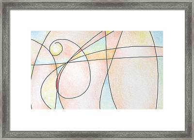 Man Framed Print by Dave Martsolf
