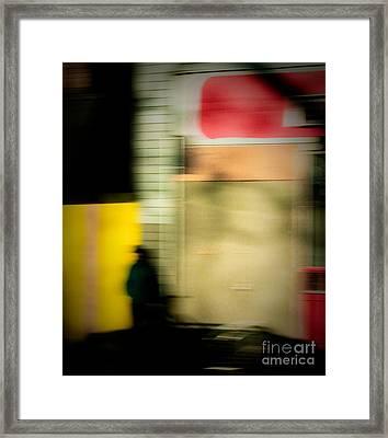 Man In The Shadows Framed Print by Emilio Lovisa