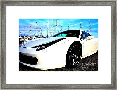 Framed Print featuring the photograph Man Made by Rogerio Mariani