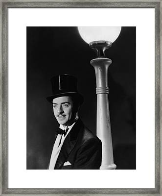 Man Of The World, William Powell, 1931 Framed Print by Everett
