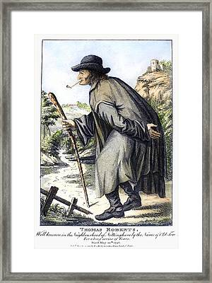 Man With Cane, C1795 Framed Print by Granger