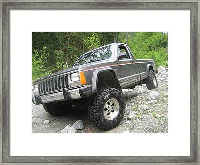'manche On Gamblers Framed Print by Shawn Hegan