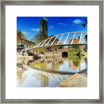 Manchester - April; 2012| #manchester Framed Print