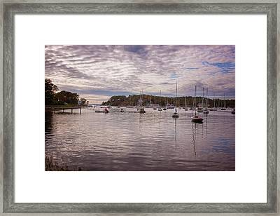Framed Print featuring the photograph Manchester Cove by Tom Singleton