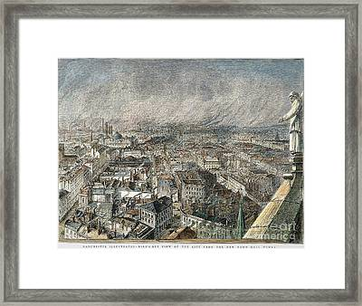 Manchester, England, 1876 Framed Print by Granger