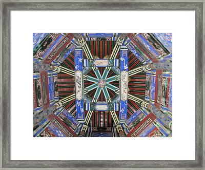 Mandala Framed Print by Kimberley Bennett