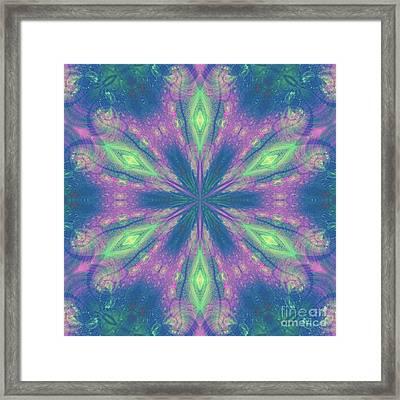 Mandala Framed Print by Kirila Djelepova