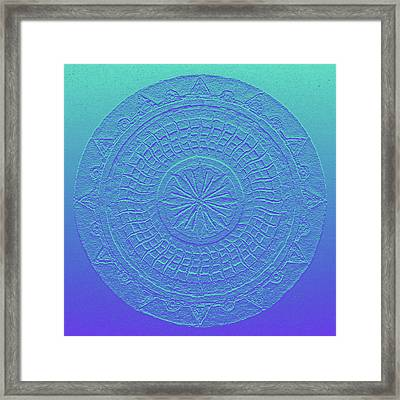 Mandala Meditation 2 V1 Framed Print